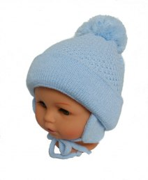 Baby hat with a scarf (CZ + S 003A)