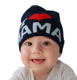 Baby hat with the word mom CZ 161F