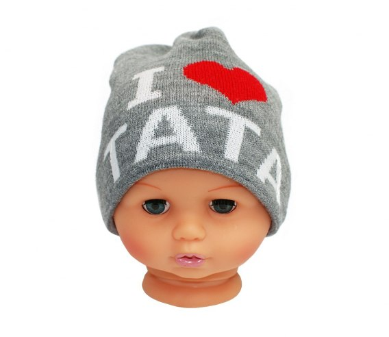 Baby hat with the word dad CZ 160A