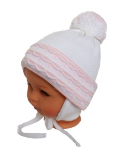 Baby hat with a scarf (CZ + S 008C)