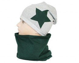 Children's cotton hat with a fireplace w-84C