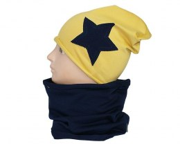 Children's cotton hat with a fireplace w-84B