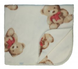 Fleece baby blanket 001A