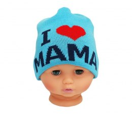 Baby hat with the word mom CZ 161C
