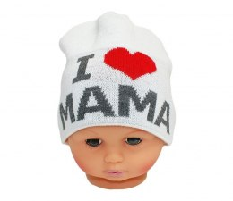 Baby hat with the word mom CZ 161B
