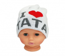 Baby hat with the word dad CZ 160B
