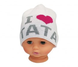 Baby hat with the word dad CZ 160 d