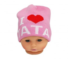 Baby hat with the word dad CZ 160E