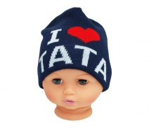 Baby hat with the word dad CZ 160F