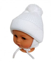 Baby hat with a scarf (CZ + S 003B)