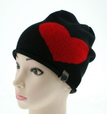 Hat, a gift on Valentine's day, heart, 180B
