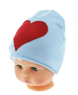 baby hat, a gift on Valentine's day, heart