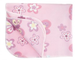 Fleece baby blanket 001D